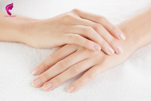 از بین بردن چروک پوست دست